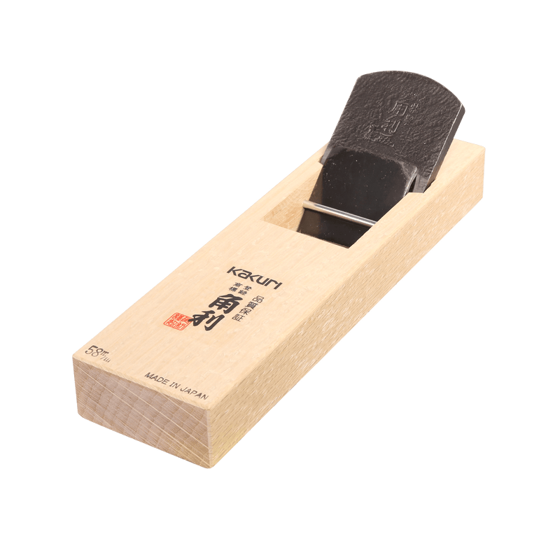 Japanese Smoothing Plane - 58mm, Aogami Blade