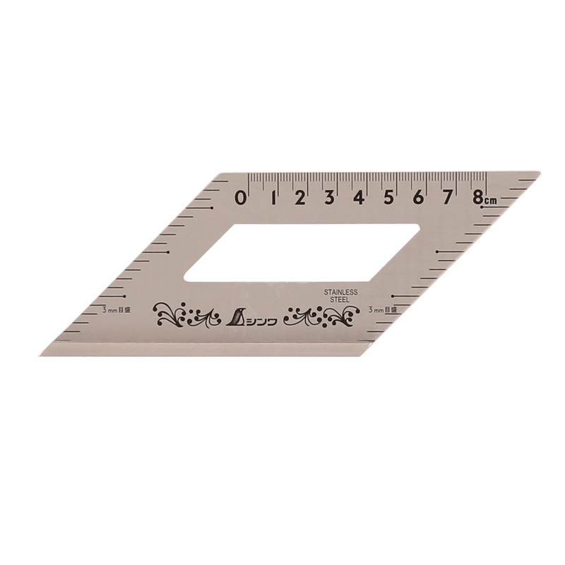 Shinwa 45/135 degree Ruler