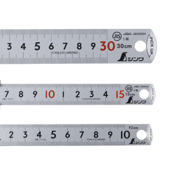 Shinwa 1mm increment ruler with Pick Up - Japanese Tools Australia