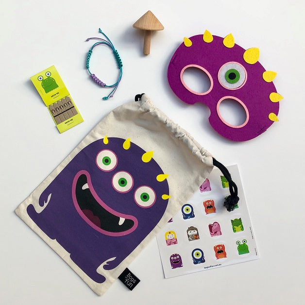 Purple Monster Fun Bag