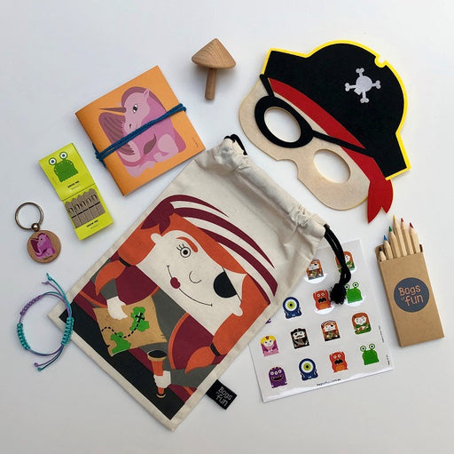 Pirate Girl Fancy Bag