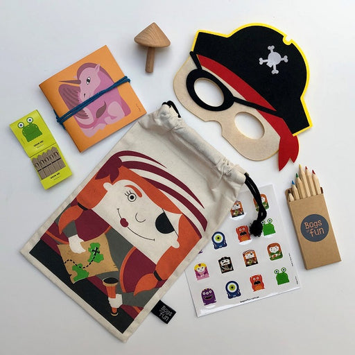 Pirate Girl Funky Bag