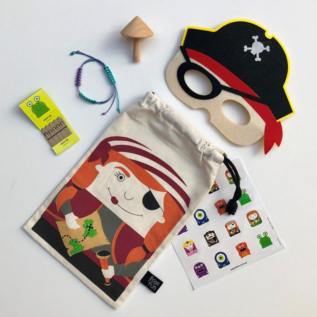 Pirate Girl Fun Bag