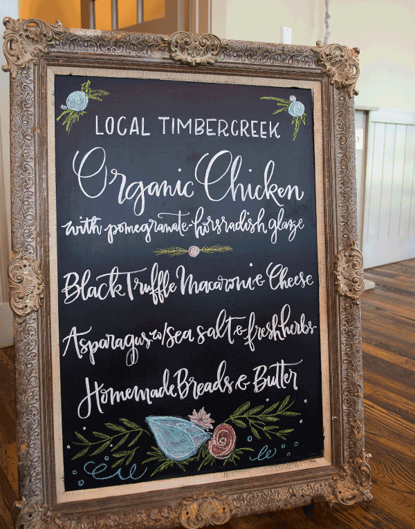 Chalk Art & Painted Signage - Delightful Things