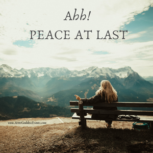 How to Find Peace at Last!