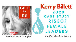 My Story, Kerry Billett, 2020 Case Study, Rise of Female Leaders!