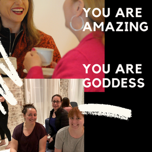 areti goddess events, confidence, online courses, start an online business
