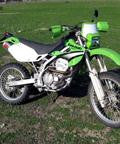 Dual Sport Kit, EZ Mount Kick Enduro Green by Baja Designs