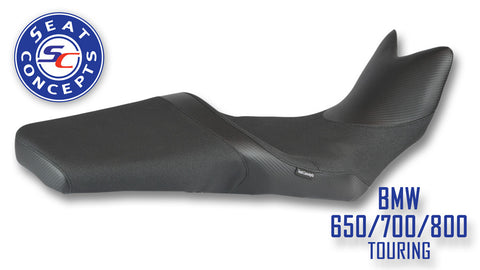 Seat Concepts BMW F650/700/800GS Touring