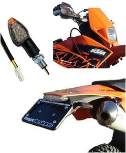 Dual Sport Kit, 07-on EXC LED Upgrades (Taillight & Signals) by Baja Designs