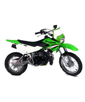 Headlight KLX110 Lighting Kit in Green by Baja Designs