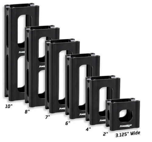 PowerMadd Narrow Pivot Style Riser Blocks
