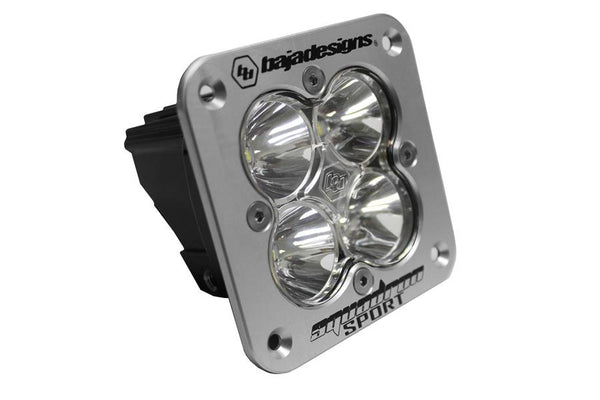 Squadron Sport LED Light - Black Flush Mount by Baja Designs