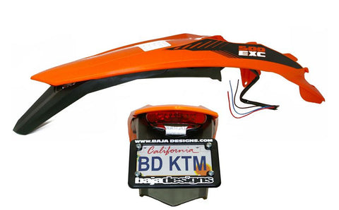 Taillight, KTM Euro LED Fender 2012-2016 by Baja Designs