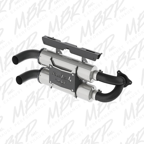 2015-2016 Polaris RZR 1000 XP Slip On Exhaust System, MBRP