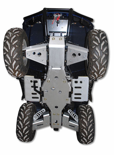 Ricochet Offroad 8-Piece Complete Skid Plate Set, Arctic Cat Mud Pro 700 & 550/700 Limited