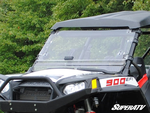 Super ATV Polaris RZR Scratch Resistant Flip Windshield