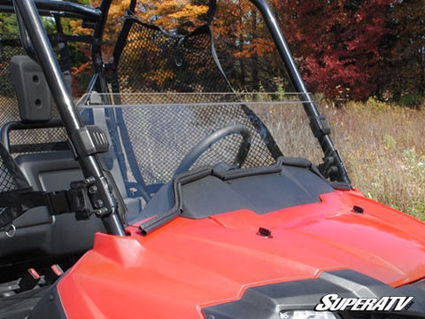 Super ATV Honda Pioneer 700 Scratch Resistant Half Windshield