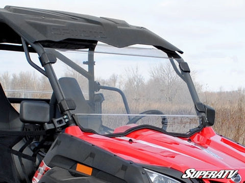 Super ATV CFMOTO ZForce 800EX Scratch Resistant Full Windshield