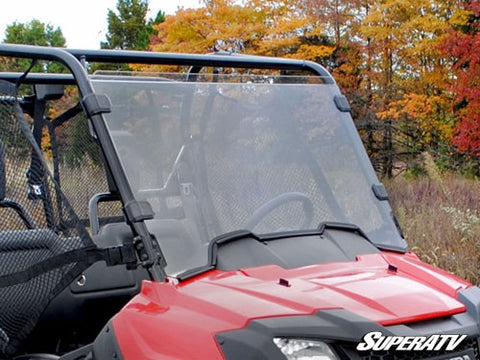 Super ATV Honda Pioneer 700 Scratch Resistant Full Windshield