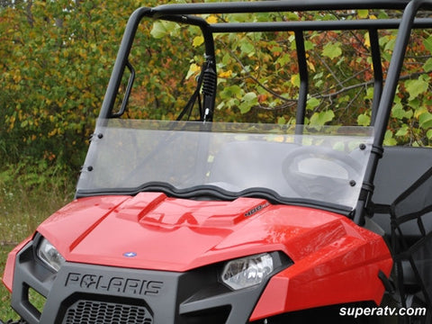 Super ATV Polaris Ranger Midsize Scratch Resistant Half Windshield