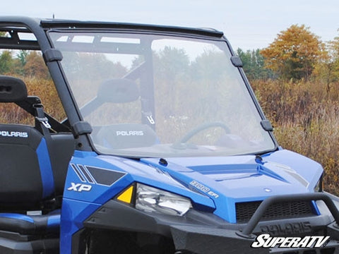 Super ATV Polaris Ranger Fullsize 570/900 Scratch Resistant Full Windshield