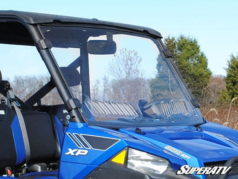 Super ATV Polaris Ranger Fullsize 570/900 Scratch Resistant Vented Full Windshield