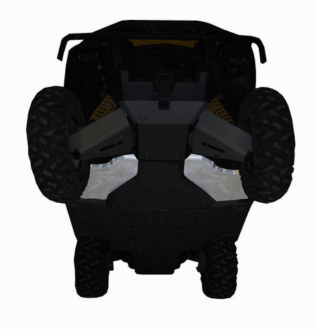 Ricochet Offroad 2-Piece Lateral Floorboard Skid Plate Set, Can-Am Commander