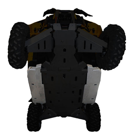 Ricochet Offroad 2-Piece Rock Slider Skid Plate Set, Can-Am Commander