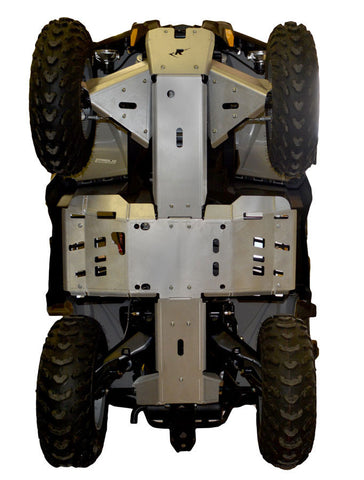 Ricochet Offroad Complete Aluminum Skid Plate Set, Can-Am Outlander-L