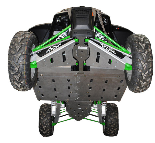Ricochet Offroad Arctic Cat Wild Cat 8 Piece Complete Skid Plate