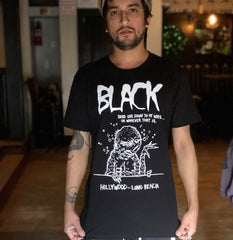 BLACK 'Send One' T-SHIRT