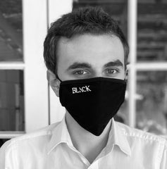 'Black' face mask