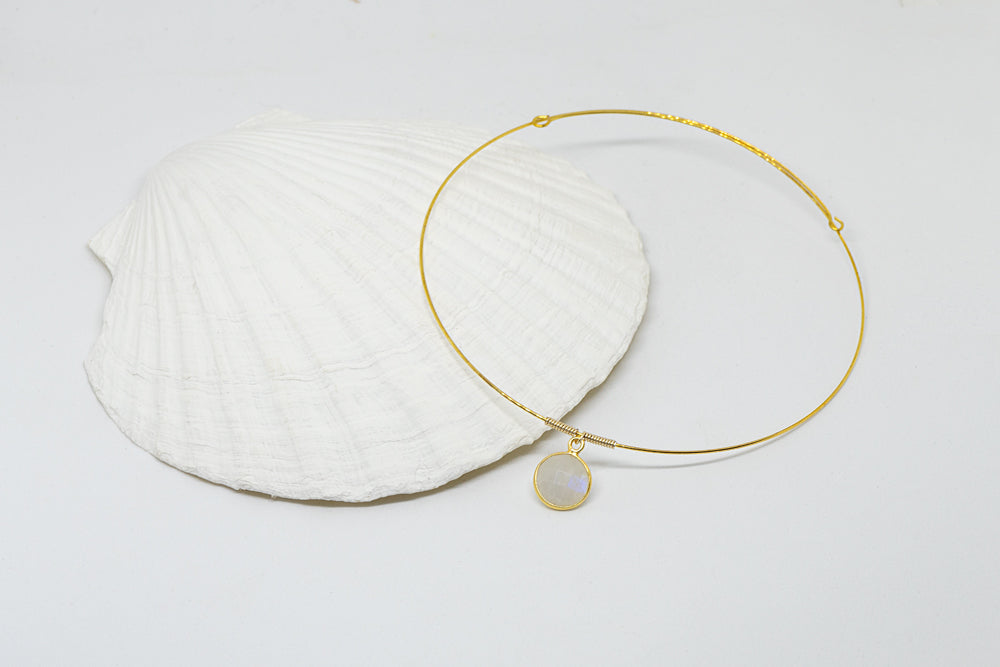 Seastar - Moonstone Choker