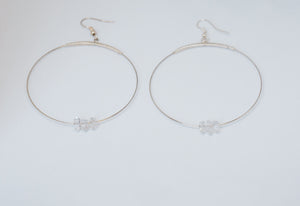 Sisters of the Moon - Herkimer Diamond Earrings