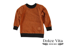 Load image into Gallery viewer, Sweatshirt, Dotts Cognac