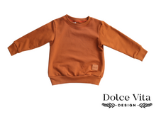 Load image into Gallery viewer, Sweatshirt, Cognac