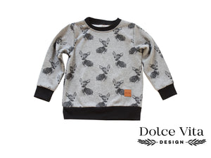 Sweatshirt, Deers Grey