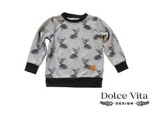 Load image into Gallery viewer, Sweatshirt, Deers Grey