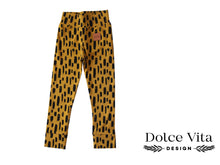 Load image into Gallery viewer, Leggings, Sketches Yellow SLIM