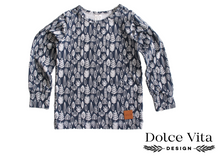 Load image into Gallery viewer, Tricot Shirt, Autumn Leaves
