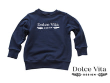 Load image into Gallery viewer, Sweatshirt, Dolce Vita Marine Blue