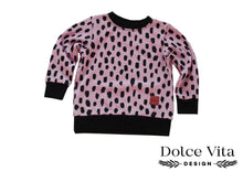 Load image into Gallery viewer, Sweatshirt, Sketches Pink
