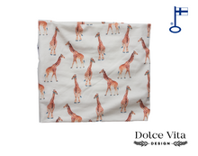 Load image into Gallery viewer, Tricot Scarf, Giraffe