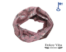 Load image into Gallery viewer, Tricot Scarf, Old Rose