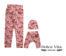 Load image into Gallery viewer, Me and Mini leggings set, Pink Foxes
