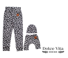 Load image into Gallery viewer, Me and Mini leggings set, Leo Black