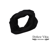 Load image into Gallery viewer, Tricot Scarf, Black