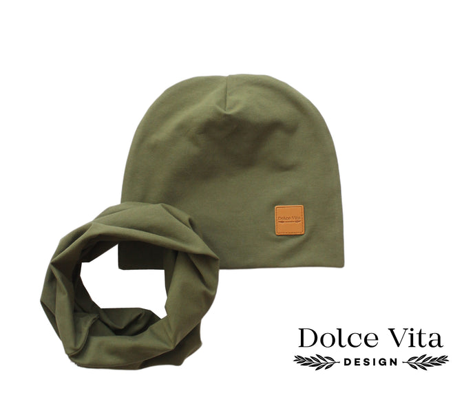 Tricot set, Army Green