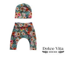 Load image into Gallery viewer, Dolls Leggings Set Pastel Flowers